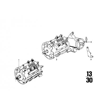 Bomba de inyección KUGELFISCHER B-1/ 71