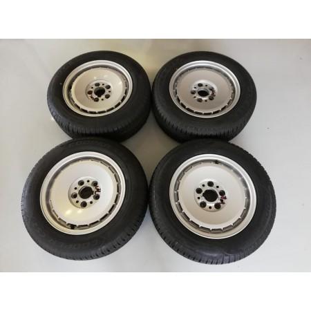 Llantas 7x15 con neumáticos nuevos Bmw E28