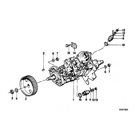 Bomba Inyectora Bmw E28, E34
