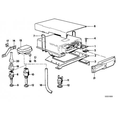 Mecanismo de mando L-Jetronic Bmw E28 E30