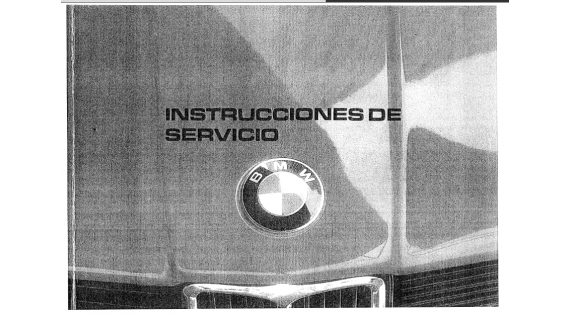Manual del usuario  Bmw e21