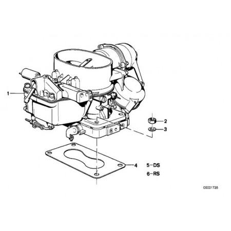 Carburador Didta Bmw E21, E12