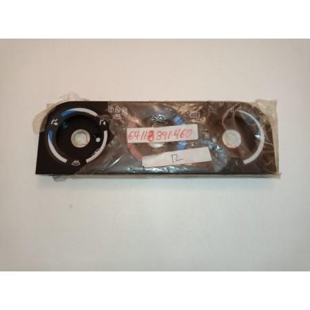 Placa frontal de mando de calefacción. Bmw E36